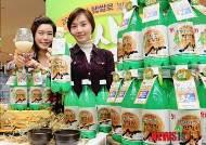 햅쌀로 밎은 철원오대쌀 생막걸리