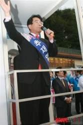 [10·26 재보선]재밌는 양천구…서울시장은 야권-구청장은 한나라 후보 뽑아