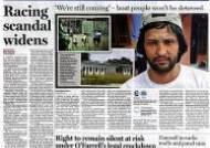 호주나라, 시드니모닝헤럴드 1면에 독도 광고 게재