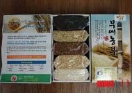 부여군, 특수기능성 쌀 '오색미' 출하 임박