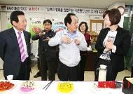 김치제조업체 방문한 서규용 장관