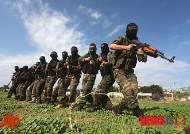 훈련하는 팔레스타인 무장단체