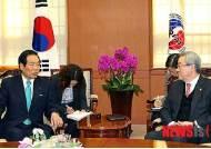 일한의원연맹 간사장 만난 김성환 장관