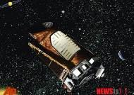 장치 분실한 케플러 우주망원경
