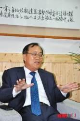 사의 표명하는 송재성 총장