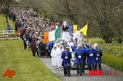 아일랜드 낙태 합법화 반대하는 천주교도들