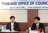 태국 내각 법제실 한국법제연구원 방문