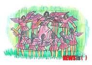 [뉴시스헬스 만평]음악의 천사들이 만드는 화음