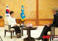 박근혜 대통령, 지난 19일 네덜란드 NOS 방송과 인터뷰