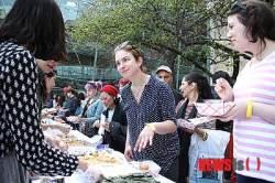 한국음식 축제 '한쿡' 뉴욕컬럼비아대 성황..컬럼비아 한인대학원학생회 주최