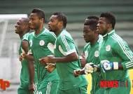 [브라질WC]  F조 나이지리아…'아프리카 챔프', 사상 첫 8강 도전