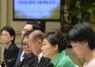 """[종합2보]朴대통령 """"인문교육은 軍가혹행위·학교폭력 해결방안"""""""