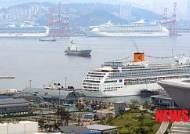 크루즈 여행객 급증에도 작년 부산항 해외여행자 감소