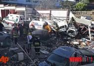 멕시코, 산부인과병원 가스 폭발로 붕괴…2명 사망, 73명 부상