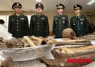 '6.25전쟁 중국군 유해 60년 만에 고향으로...'