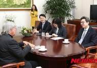 박형준 국회 사무총장, 짐 데이토 교수 면담