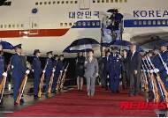 朴대통령, 콜롬비아 보고타 도착…중남미 방문일정 시작