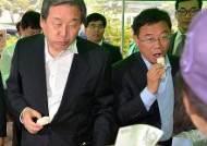 """[종합]김무성, 새정치연합 집안싸움에 """"공천권 내려놓으면 된다"""""""