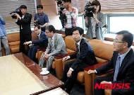 김승환 전북교육감과 국회의원들 면담