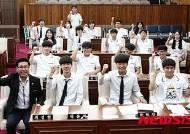 봉의고 '기라성' 강원도의회 방문