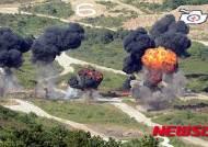 북한군의 가상 포격