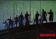 창극 '적벽가', 공명을 쫓는 오나라 군사들