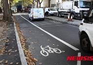 '안전이 우선' 영국 자전거도로