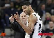 """[NBA]""""팀 던컨, 역대 최고 파워포워드…2위 칼 말론"""""""