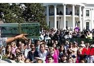 백악관 '부활절 행사' 이스터 에그롤 축제 열린다