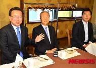 김종인 대표 대구 방문, 총선 출마자와 오찬