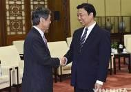 중일관계 개선 약속한 리 중국 부주석과 고무라 자민당 부총재