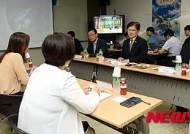 위두커뮤니케이션즈 방문한 최양희 미래창조과학부 장관
