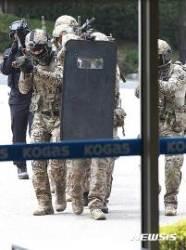 해군·해병대 신속기동부대 서해안 국가중요시설 방호훈련