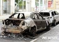 독일 베를린 재개발 반대 폭력시위