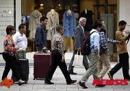 엔저 파티 끝났나…日 백화점 싹쓸이 중국인 지출 감소