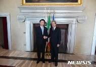 윤병세 외교부장관, 파올로젠틸로니 이탈리아 외교장관 회담