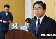 모두발언하는 김민기 대전도시철도공사 사장 후보자 인사청문회