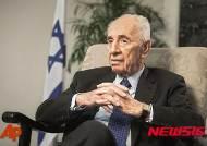 페레스 전 이스라엘 대통령 '뇌졸중 증세 점점 호전'