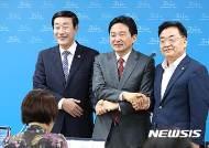원희룡제주지사·신관홍 도의장·김태석 위원장