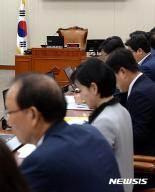 [종합]국회 정무위, 국감 증인채택 전체회의 野단독 개회