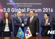 한-카자흐스탄 전자정부 협력
