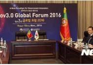 한-포르투갈 전자정부 및 정부혁신 분야 협력 방안 양자회담