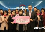한국씨티은행 저소득층 유방암 환우 돕기 캠페인