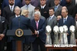 """""""트럼프가 싫어서""""…슈퍼볼 챔피언들 백악관 초청 파티 불참"""