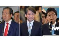 5명의 대선 후보들 고향에서는 오히려 홍준표가 최다득표