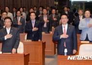 자유한국당 초선 의원들, '홍준표 추대론'에 힘 싣나