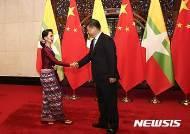 중국 해군 원양함대 미얀마 방문…연합 해상훈련 실시