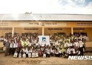 JB금융그룹 해외봉사단, 캄보디아서 교육·의료 봉사