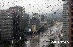 """[종합] 전국 호우특보 확대…""""중부지방, 시간당 30㎜ 강한 비"""""""