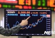 '코스피 활황'에 국내 주식형펀드 수익률 연초比 14.6%↑